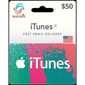 iTunes 50$ -USA