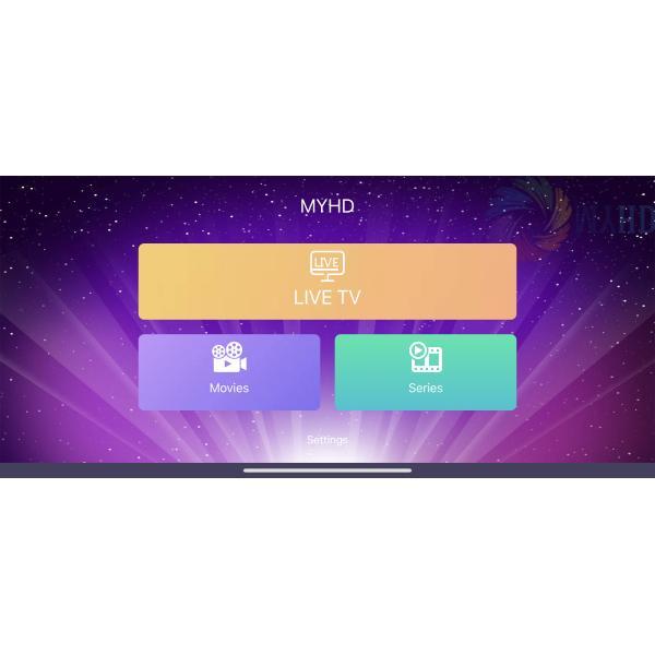 MYHD IPTV 12 MONTHS IPHONE
